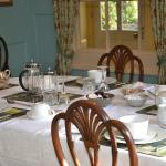BREAKFAST IN THE BEAUTIFUL DINNING ROOM