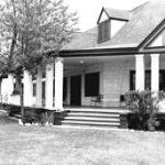 The front of the Lodge in 1936
