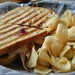 Panini with chicken and jam!
