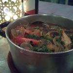 zuppa di pesce a Vila Nova de Milfontes PORTOGALLO