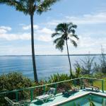 Swimming pool and ocean view