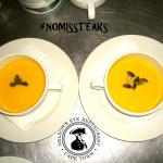 Creamed Butternut & Sweet Potato Soup
