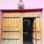 Entrada casa Panqarani
