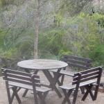Along the walking track there are a few spots to sit and relax, nestled amongst the bushland.