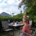 our little terrace