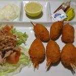Media ración de muslitos de cangrejos ¡¡¡ buenisimos!!!
