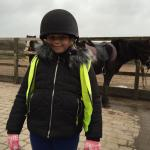 Loving a cold day out riding!