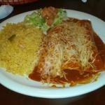 My chicken enchiladas