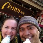 Mimi's ice cream near Foreigner Street