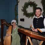 Mary-Kate Spring Lee and Peter Winter Lee from Seasons at Yuletide