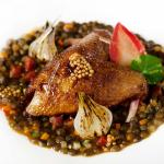 Wood Pigeon with Alsace Puy Lentils