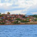 view of Manado from boat ride