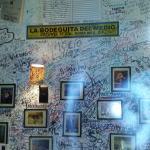 Bodeguita wall!