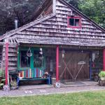 The Artful Cottage filled with fun local art and chalkboard ready for yours!