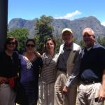 A photo with stephen at the beautiful thelema vineyard