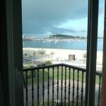 Vista hacia la playa Santa Marta