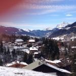 Peu de neige mais vue magnifique