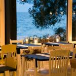 View of Lake Ontario from our Dining Room + Bar