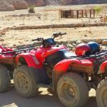 Gita nel deserto in quad