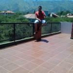 La vista es increible desde la terraza