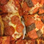 Deep Dish Pepperoni and Sausage