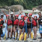 AWESOME group to experience White Water Rafting with.