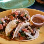 Chorizo & Carnitas Tacos