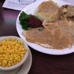 Turkey dinner ($11.75)