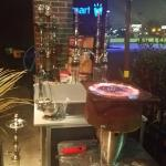 Hot like fire baby... check out the hookah lounge for sure when you are in town ;)