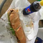Panino creato oggi: pane bianco 30cm - salsa tonnata- salsa piccante - olive- mais - insalata -