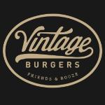 Vintage Burgers Friends and Booze