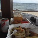 Fish, Beer, Hot Sauce, Sea and Sand