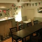 The back room - available for bigger groups and or private parties