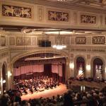 Max M. Fisher Music Center, theater interior.