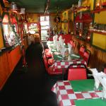 Burgers and fresh cut fries, or seafood steaks and pasta. Lots of variety!