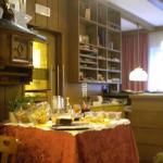 buffet colazioni e reception
