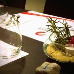 A decoração das nossas mesas