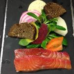 saumon marine gravelax