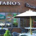 casual and comfortable outdoor seating at Gianfabio's Italian Café