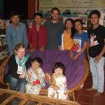 Awesome hosts, Kunn and his team and family