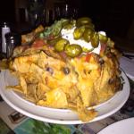 A mountain of Nachos