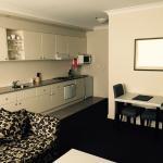1 bedroom apt - kitchen