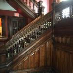 Beautiful Antique Hardwood Staircase