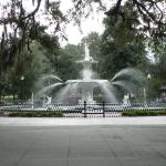 Nearby Fountain in Square