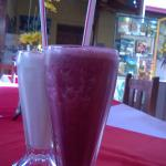 Fresh and delicious smoothies