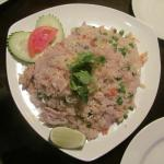 Thai style Fried Rice with pork