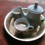 Hot milk tea