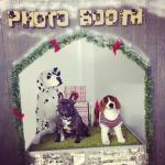 Frankie in the Dug cafe photobooth
