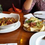 The sharing platter and chilli chips