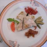 Duo de foie gras naturel et à la vanille